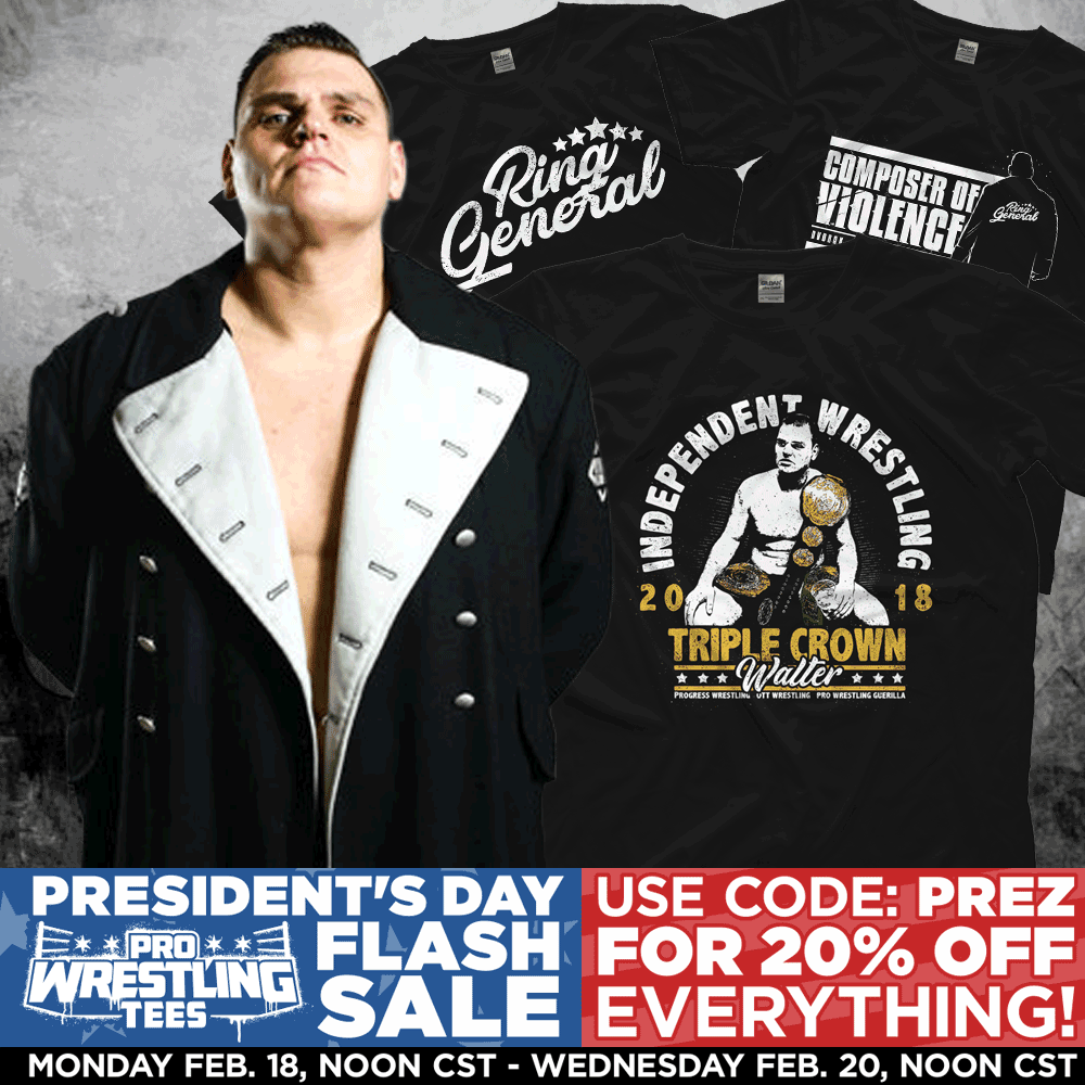 Pro Wrestling Tees Exclusive Wrestling T Shirts Merch