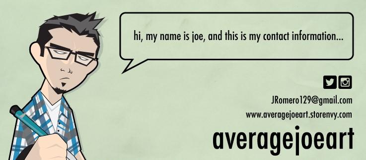 Average Joe Art