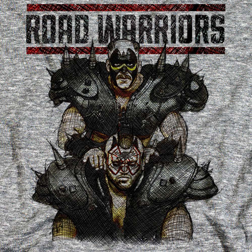 Road Warriors Sketch by 500 Level