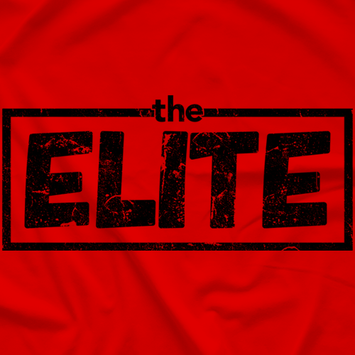 Elite Logo (10 shirt colors available)