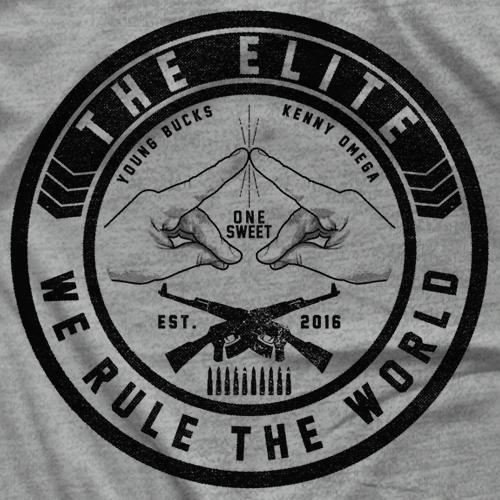 - Clotheslined Apparel - Vintage Blend Soft T-shirt The Elite
