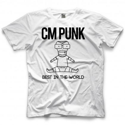 Professional Wrestler Cm Punk Best In The World T Shirt