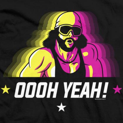 """Macho Man"" Randy Savage Officially Licensed T-shirt ..."
