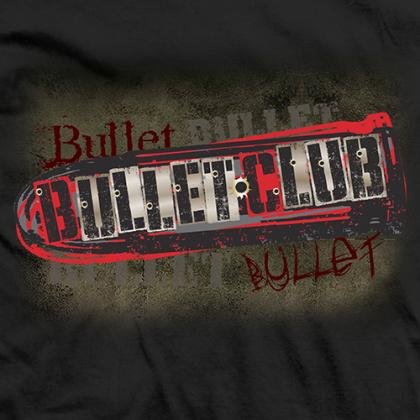 new japan prowrestling bullet club original on black tshirt