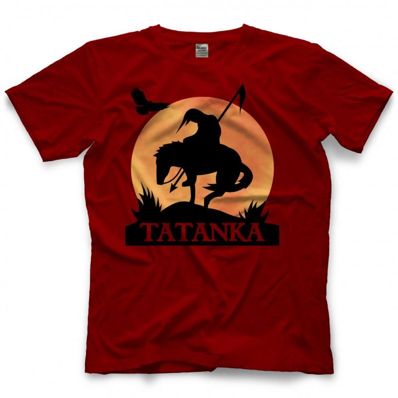 tatanka end of the trail t shirt. Black Bedroom Furniture Sets. Home Design Ideas