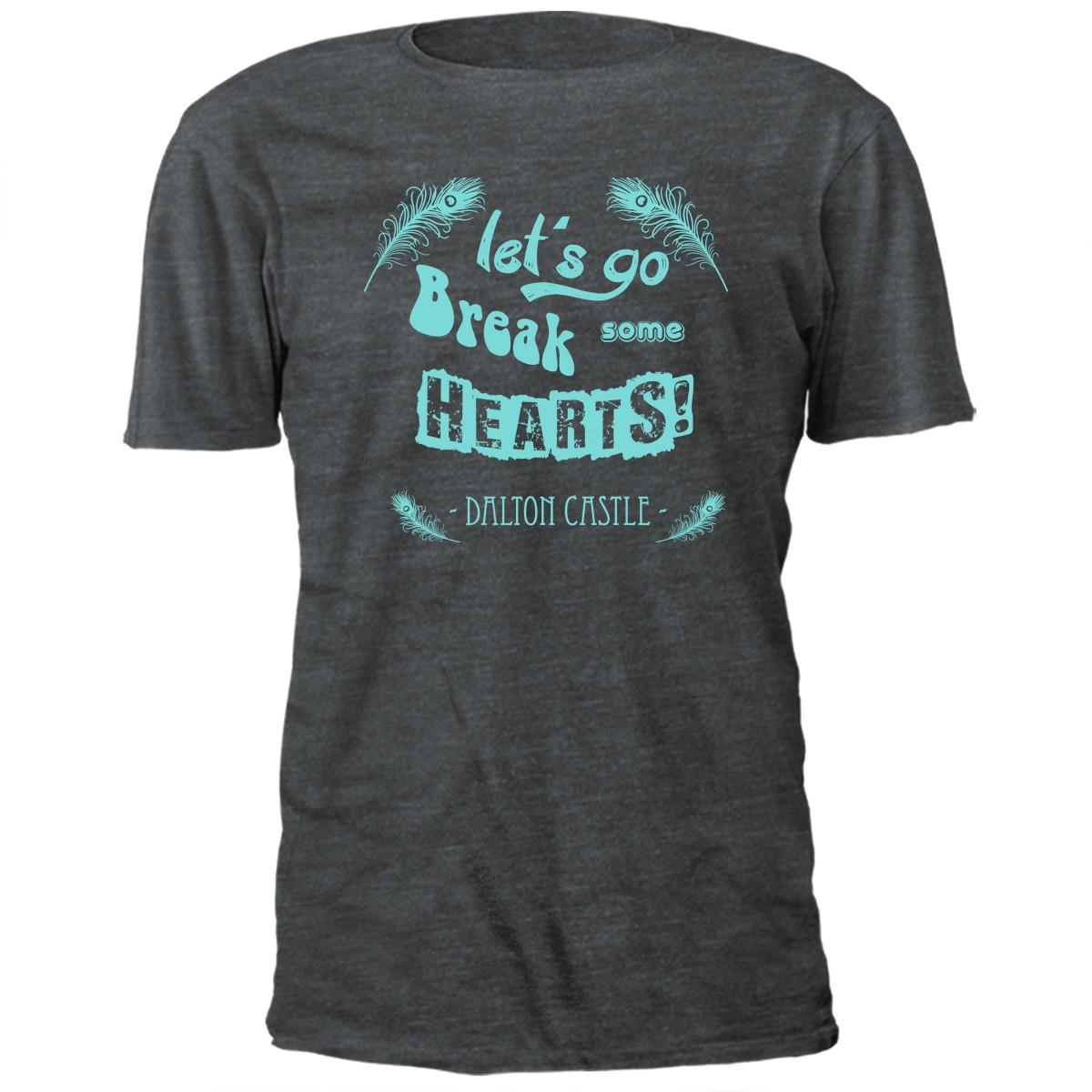 Dalton Castle Break Some Hearts T-shirt
