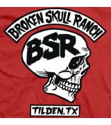 Steve Austin BSR Rocker Red T-shirt