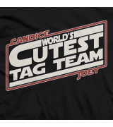 Candice LeRae and Joey Ryan May The Cute Be With You T-shirt