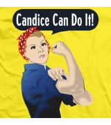 Candice LeRae Candice Can Do It T-shirt