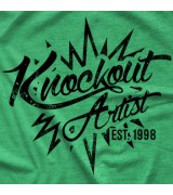 "- Clotheslined Apparel - Vintage Blend Soft T-shirt Chris Hero ""Knockout"""