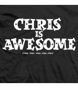 Chris is Awesome (Black)