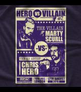Hero vs Villian 2 T-shirt