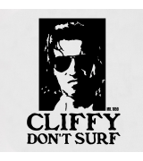 Cliffy Don't Surf Towel