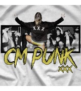 "- Clotheslined Apparel - Vintage Blend Soft T-shirt CM Punk ""Legacy"""