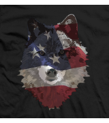 American Flag Wolves