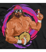 Macho Man Forever Madness T-shirt