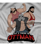 3 Faces of Ottman shirt