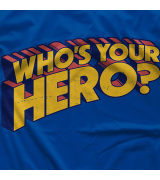 Chris Hero Who's Your Hero T-shirt