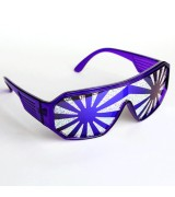 Purple Burst Glasses
