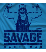 Macho Man Savage by 500 Level T-shirt