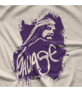 Randy Savage Savage Splatter T-shirt