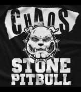 Chaos Stone Pitbull T-shirt