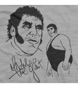 Andre The Giant Signature T-shirt