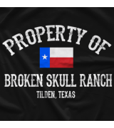 Steve Austin Property Of BSR T-shirt