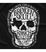 Steve Austin Mechanical Skull T-shirt