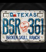 Steve Austin BSR License Plate T-shirt