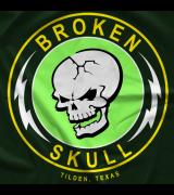 Steve Austin Lightning Skull T-shirt