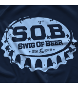 Steve Austin S.O.B. – Bottle Cap T-shirt