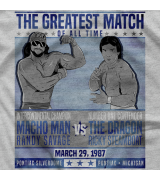 "- Clotheslined Apparel - Vintage Blend Soft T-shirt Savage/Steamboat ""The Match"""