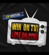 TJR Wrestling Win On TV T-shirt