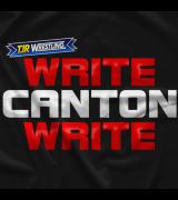 TJR Wrestling Write Canton Write T-shirt