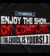 TJR Wrestling Enjoy The Show T-shirt