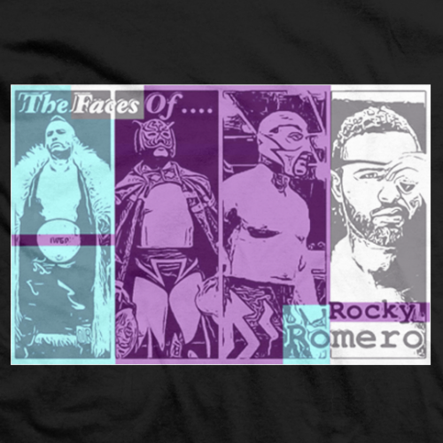 Rocky Romero Faces Of Azucar T-shirt