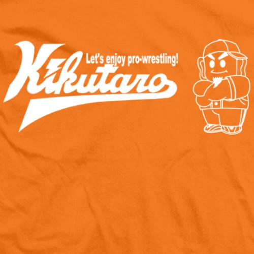 Kikutaro Baseball Logo T-shirt