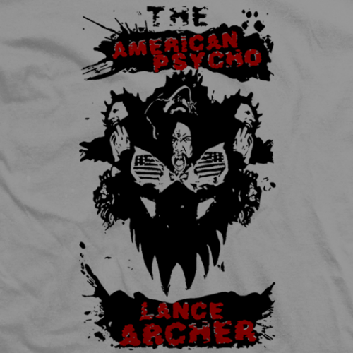 Lance Hoyt American Psycho T-shirt