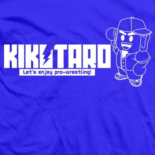 Kikutaro Let's Enjoy Pro Wrestling T-shirt