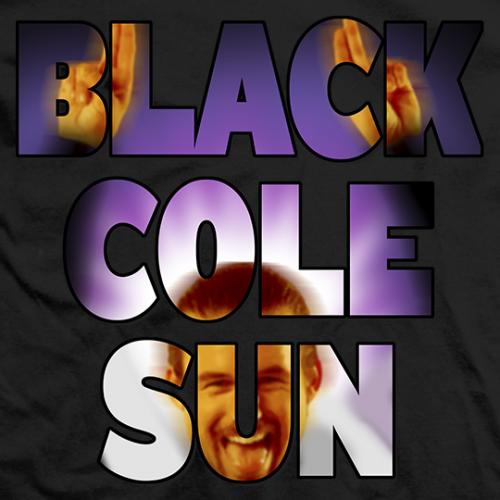 Adam Cole Black Cole Sun T-shirt
