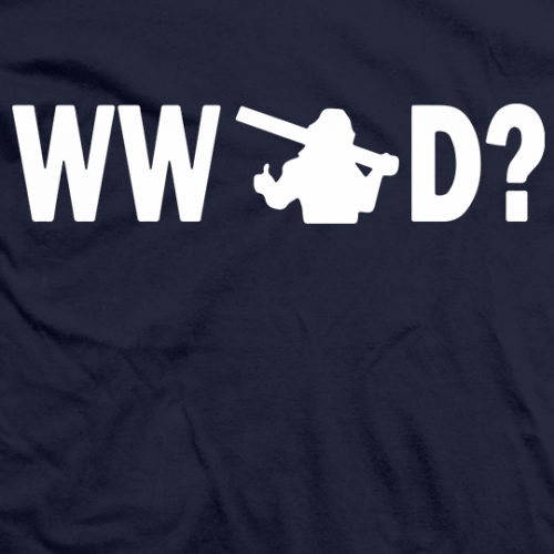 What Would Hacksaw Do? T-shirt