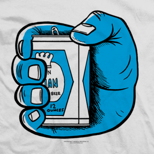Andre The Giant Beer In Hand T-shirt