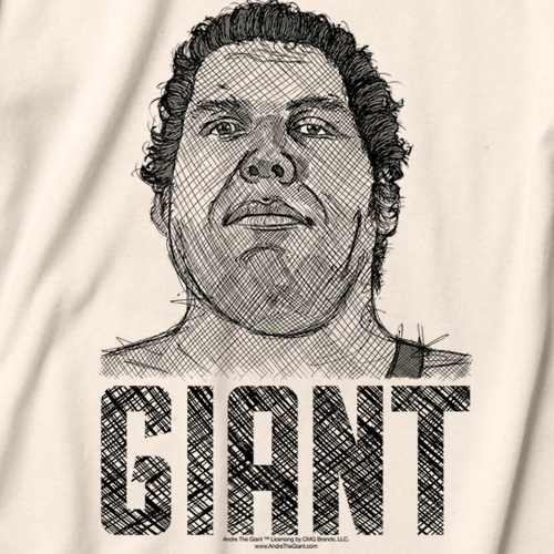 Andre The Giant Andre Grill T-shirt