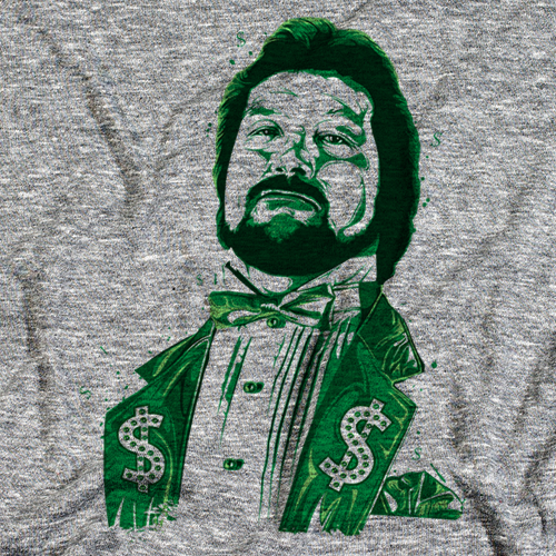 Ted DiBiase Million G Color by 500 Level T-shirt