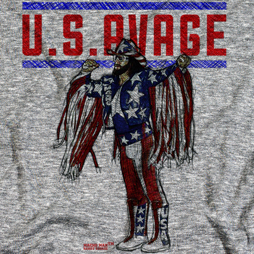 U.S.AVAGE by 500 Level T-shirt