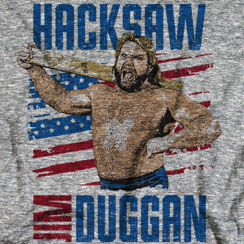 Hacksaw Jim Duggan Scream B by 500 Level