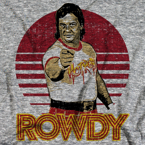 Rowdy Roddy Piper Point R by 500 Level