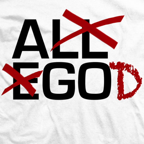 Ethan Page GOD T-shirt