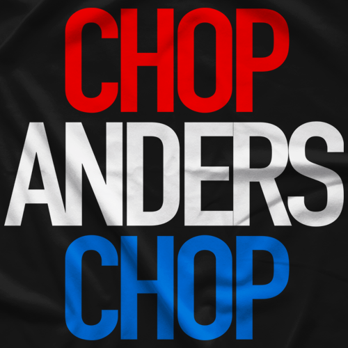 Chop Anders Chop T-shirt